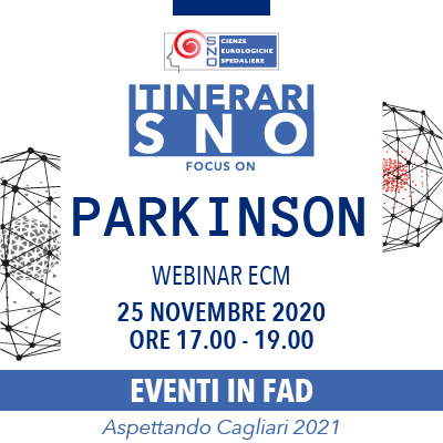Itinerari SNO in FAD - Focus on Parkinson