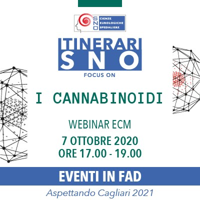 Itinerari SNO in FAD – Focus on 'I Cannabinoidi'