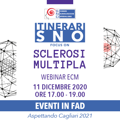ITINERARI SNO IN FAD - Focus on Sclerosi Multipla
