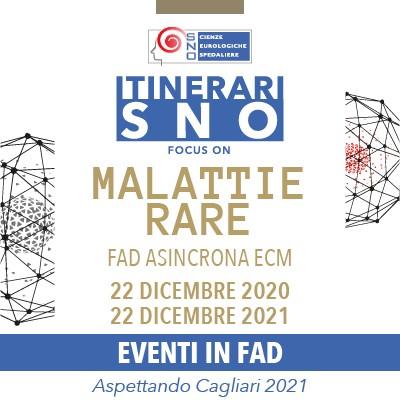 Itinerari SNO in FAD - Focus on Malattie Rare