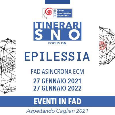 ITINERARI SNO IN FAD – Focus on Epilessia