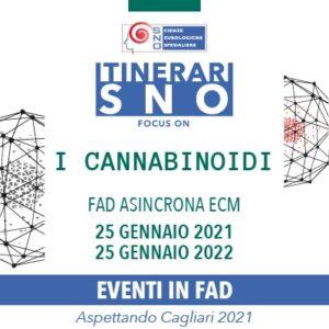 """Itinerari SNO in FAD – Focus on """"I Cannabinoidi"""" (25/01/2021 - 25/01/2022)"""